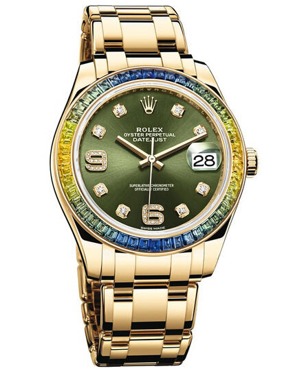 Rolex Oyster Perpetual Datejust Pearlmaster 39 86348SABLV Fake