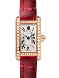Cartier Tank Americaine Silvered Flinque Dial Ladies Watch WB710014