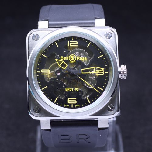 Bell&Ross Instrument Skeleton BR01-92 RS-43 Replica Watch