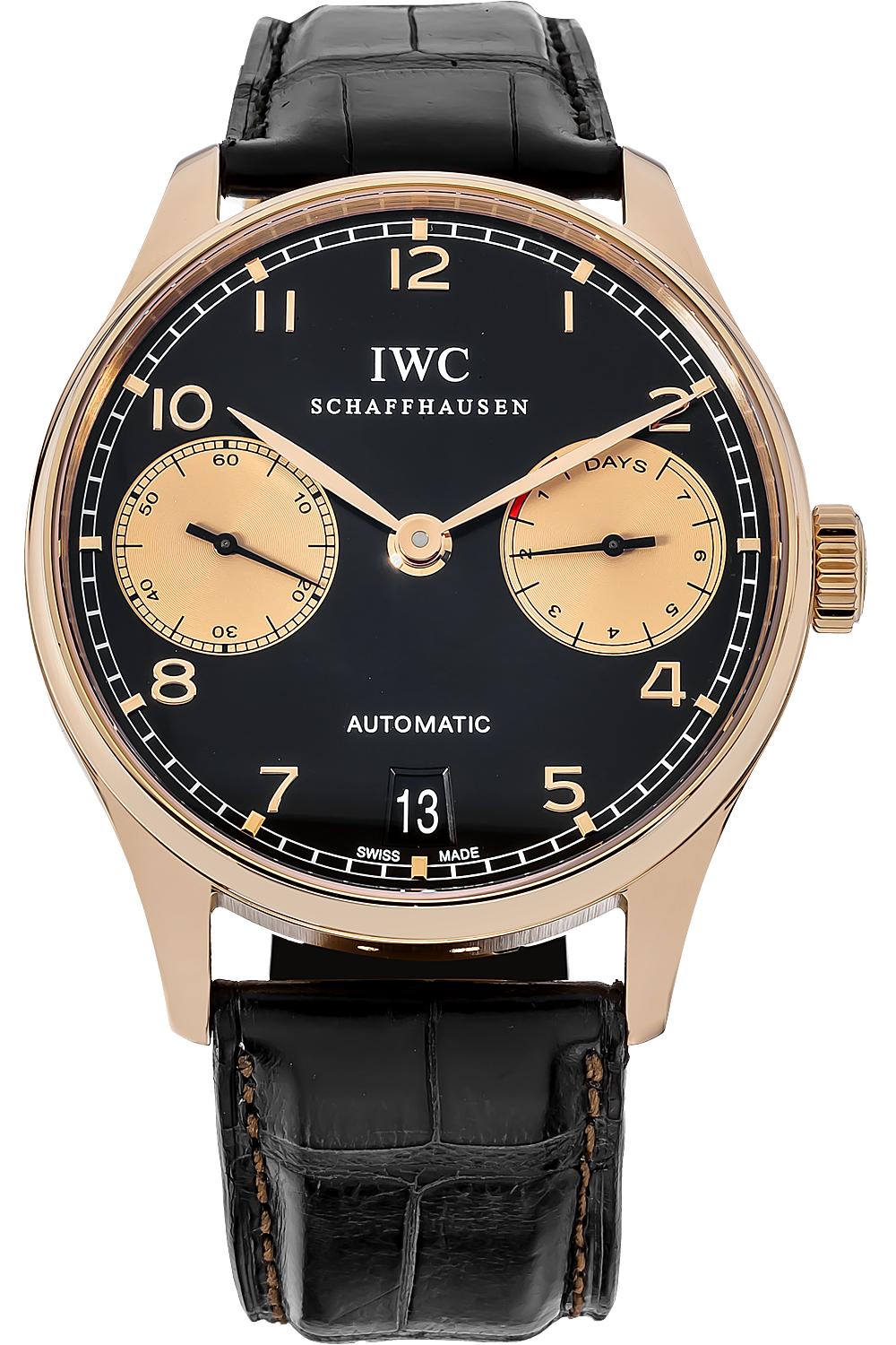 Replica IWC Portuguese 7 Day Automatic Boutique Edition watch IW500121