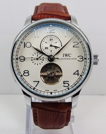 IWC Portofino Tourbillon Chronograph White Watch