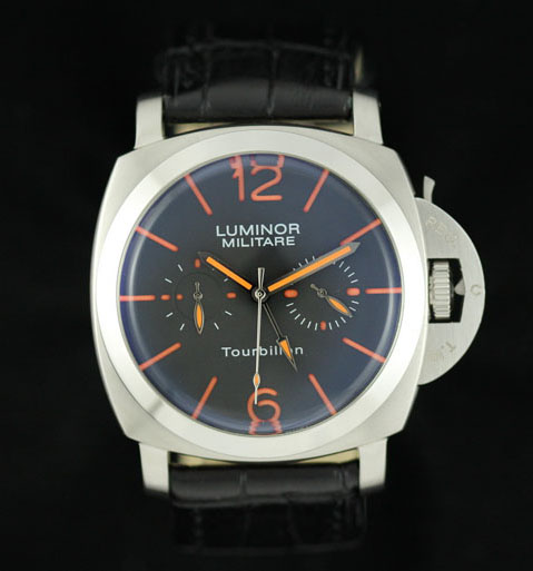 Panerai Radiomir Tourbillon GMT PAM 00330 White Case Replica Watch