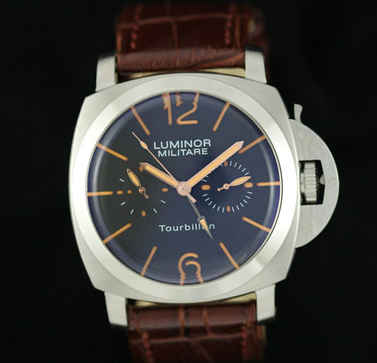 Replica Panerai Radiomir Tourbillon GMT PAM 00330 White Case