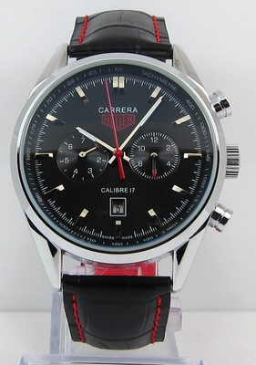 Tag Heuer Carrera Calibre 17 Automatic Chronograph Jack Heuer Edition Black