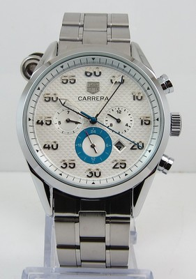 TAG Heuer Carrera Calibre 360 White with steel bracelet