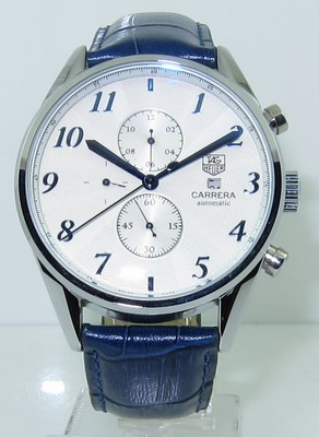 Tag Heuer Carrera Heritage Calibre 16 Automatic Chrongraph Watch