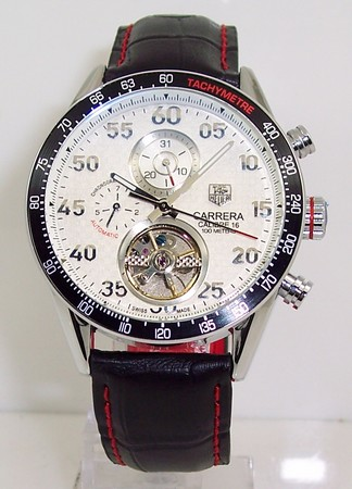 Tag Heuer Carrera CALIBRE 16 Tourbillon AUTOMATIC CHRONOGRAPH Watch