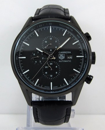 Tag Heuer Carrera Automatic Chrongraph Black Watch