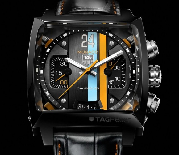 Tag Heuer Monaco 24 Concept Chronograph watch