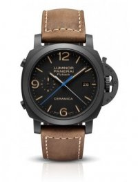 Officine Panerai Luminor 1950 3 Days Chrono Flyback Automatic Ceramica PAM00580 Fake
