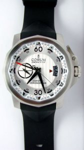 Admiral's Cup Challenger 48 Titanium White Dial