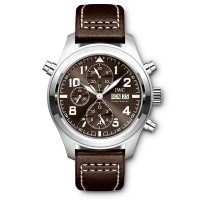 Replica IWC Pilot Brown Dial Automatic Men's Chronograph Watch IW371808