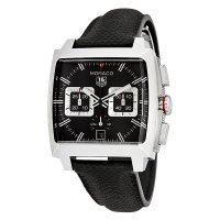 Tag Heuer Monaco Black Opalin Dial Automatic Men's Chronograph Watch CAL2113.FC6536