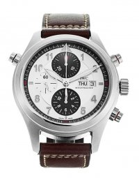 IWC Pilot's Spitfire Double Chronograph Automatic Mens Watch IW371802