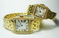 CARTIER SANTOS DEMOISELLE WATCH, MINI MODEL WF9011Z8