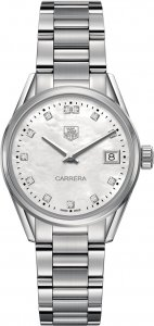 Tag Heuer Carrera Mother of Pearl Dial Ladies Watch WAR1314.BA0778