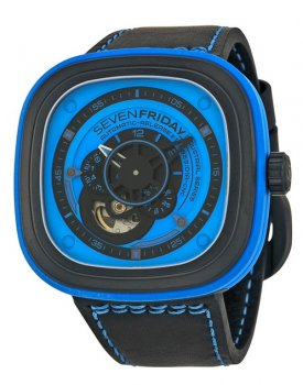 Sevenfriday P1-4 Industrial Essence Blue Dial Automatic Watch