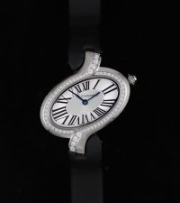 Cartier Delices De Cartier Diamond Watch