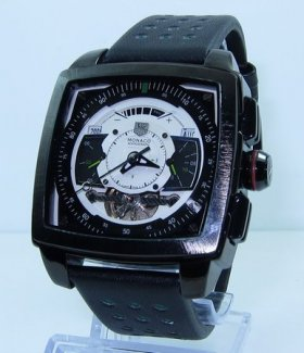 Tag Heuer Monaco Mikrograph Tourbillon No Numbers Dial Watch