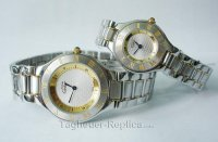 CARTIER 21 MUSTDE CARTIER WATCH, SMALL MODEL W10073R6