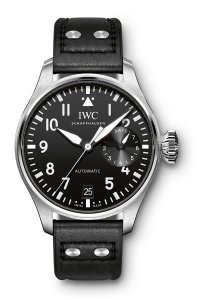 Replica IWC Big Pilot Black Dial Automatic Men's Watch IW500912