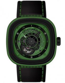 Sevenfriday P1-5 Industrial Essence Green Dial Automatic Watch