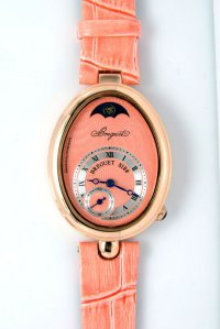 Breguet Reine de Naples 5122 Collection pink Dial Watch