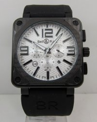 Bell & Ross BR 01-94 CARBON Aviation Black Chronograph Replica