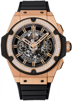 Hublot King Power Unico King Gold Chronograph 701.OX.0180.RX