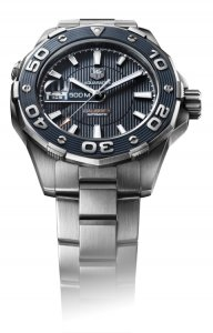 TAG Heuer aquaracer 500m calibre 5 diving watch(blue)