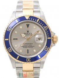 Replica ROLEX SUBMARINER DATE men's Watch 16613SG