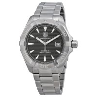 Tag Heuer Aquaracer Automatic Anthracite Guilloche Stainless Steel Men's Watch WAY2113.BA0910