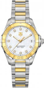 TAG Heuer Aquaracer Ladies 300M Steel & Yellow Gold32 Replica