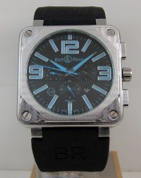 Replica Bell & Ross BR 01-94 Steel Chronograph