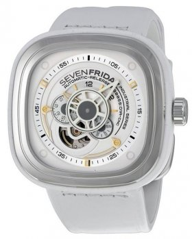 Sevenfriday P1-2 Industrial Essence White Dial Automatic Watch