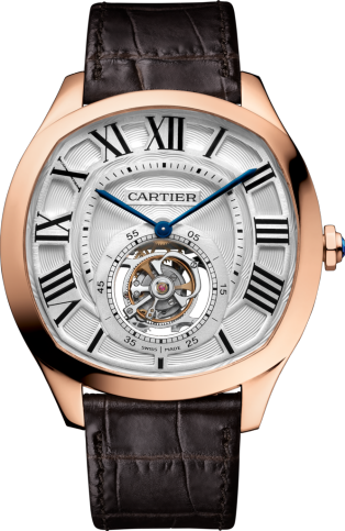 Drive de Cartier Flying Tourbillon watch W4100013